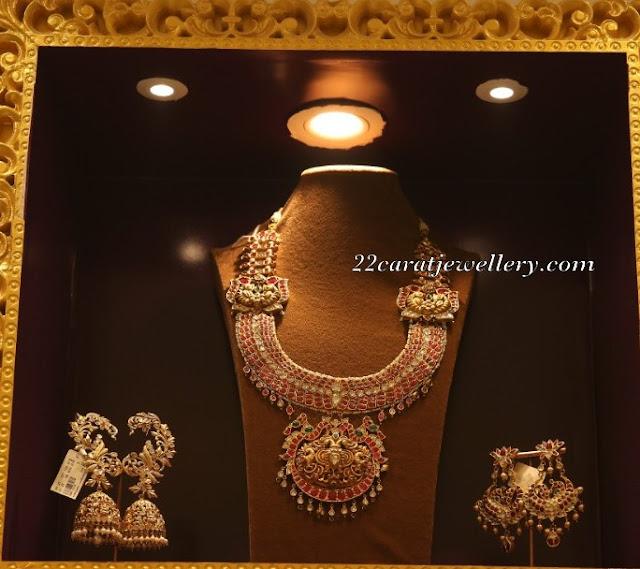 Kundan Haar Ear Cuffs by Manjula Jewels
