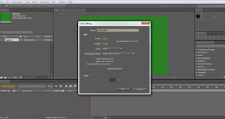 tutorial adobe after effect cs4 mengatur properties solid layer