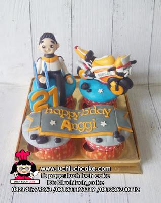 Cupcake Tema MotoGP
