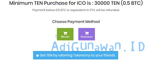 Cara Membeli Tokenomy (TEN) Bitcoin