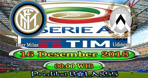 Prediksi Bola855 Inter Milan vs Udinese 16 Desember 2018
