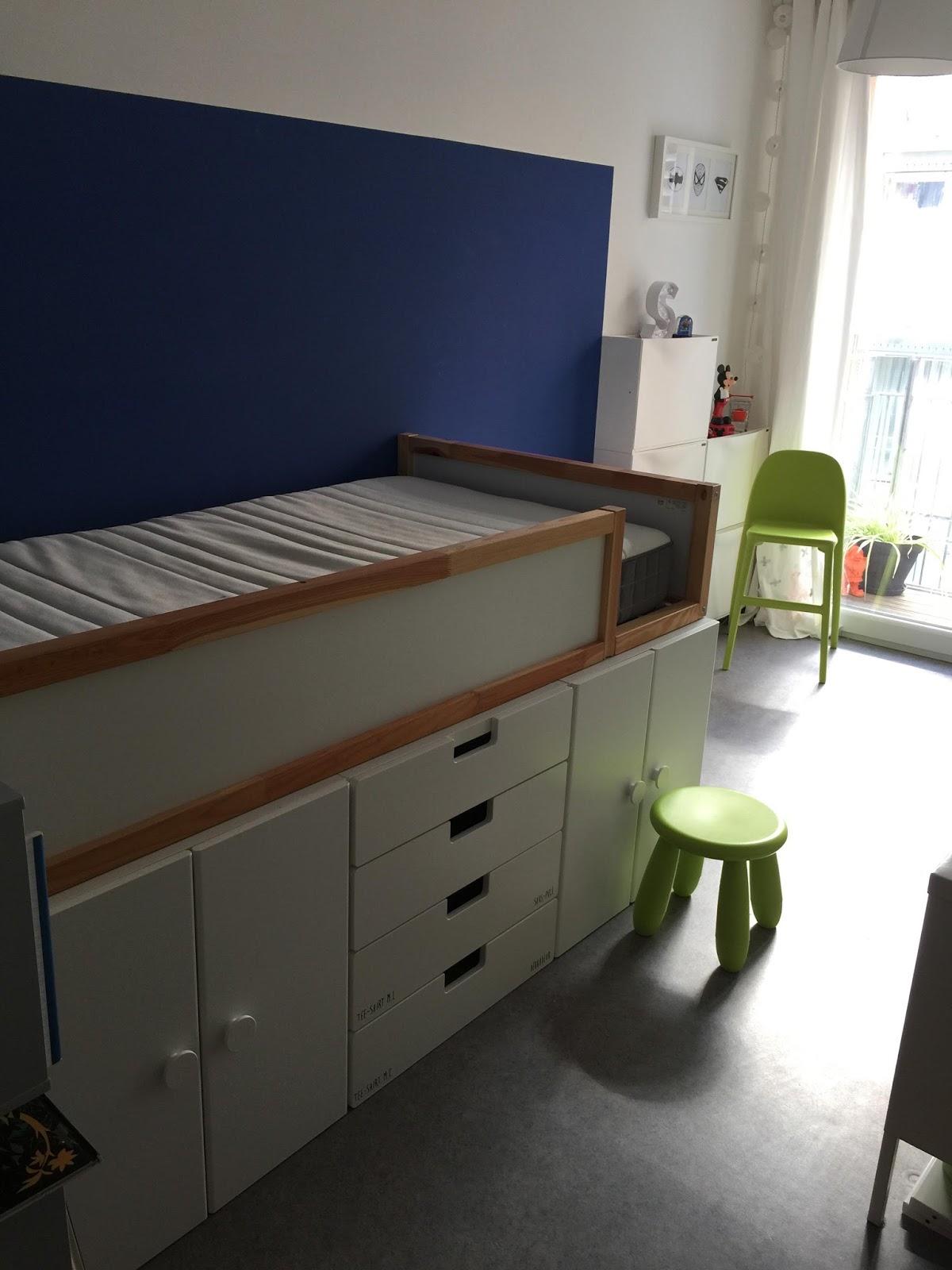 ikea hack un nouveau lit pour samuel anso b. Black Bedroom Furniture Sets. Home Design Ideas
