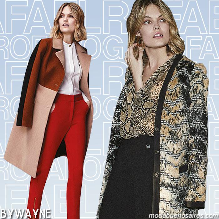 Tapados, sacos, chaquetas moda invierno 2019. Moda invierno 2019 argentina.