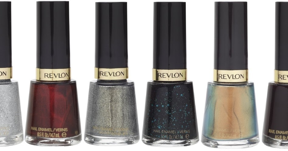 Revlon Nail Enamel High Shine Metallic Glitter And Texture Collection With Swatches Beauty