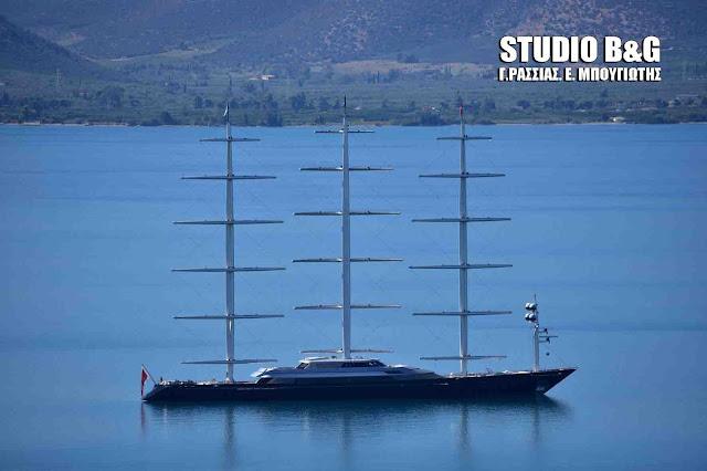 "Falcon Malteze: Το πολυβραβευμένο ιστιοφόρο ¨Γεράκι της Μάλτας"" στο Ναύπλιο  (βίντεο)"