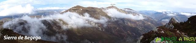 Sierra de Begega, panorámica desde la Rozada