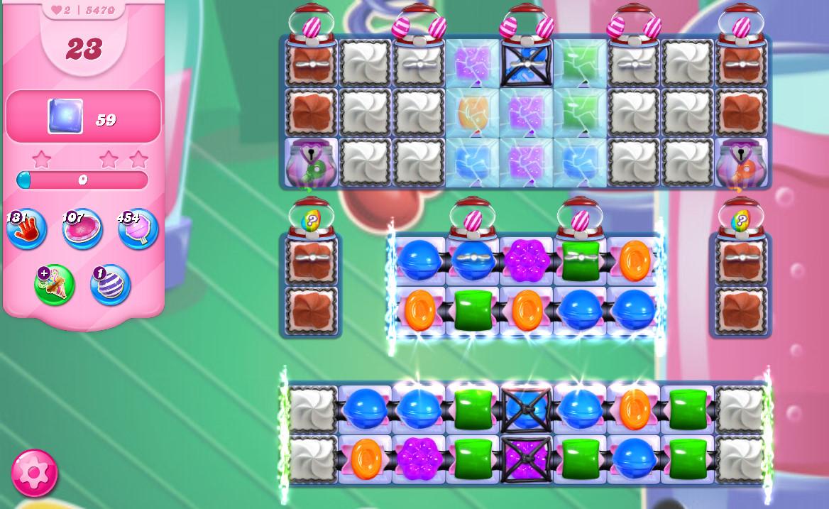 Candy Crush Saga level 5470