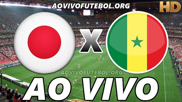 Assistir Japão x Senegal Ao Vivo Online Grátis