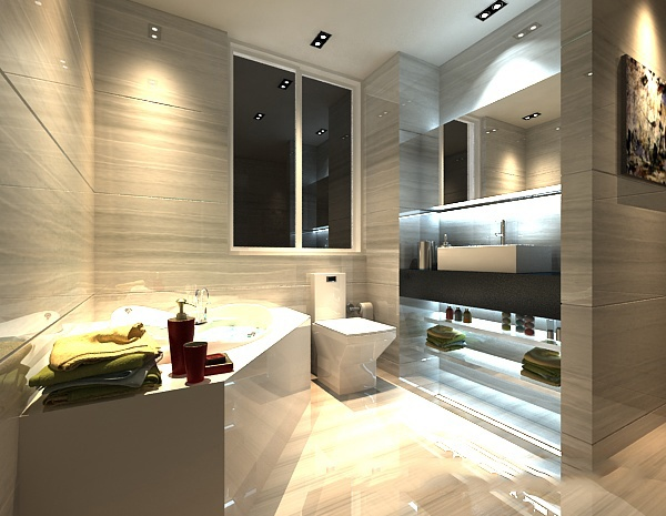3ds Bathroom 3d model free 3ds max