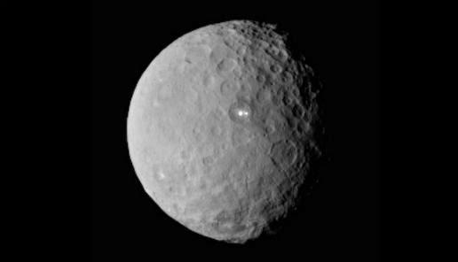 Titania  image taken Voyager 2