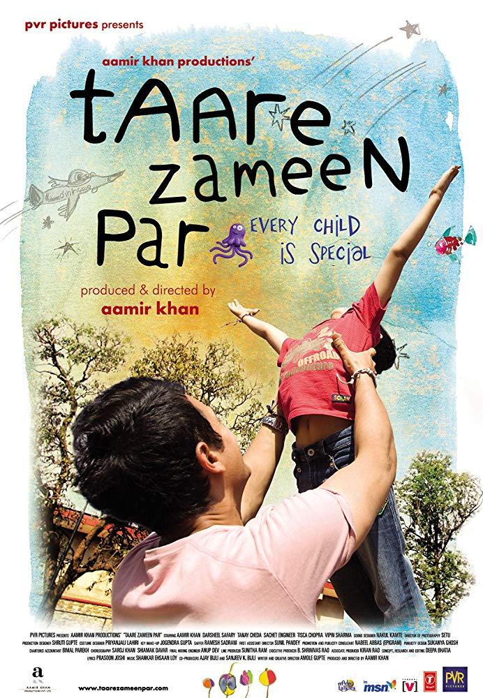 Taare Zameen Par 2007 Hindi Movie 500MB BluRay 480p