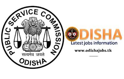 ODISHA PUBLIC SERVICE COMMISSION(ASO)