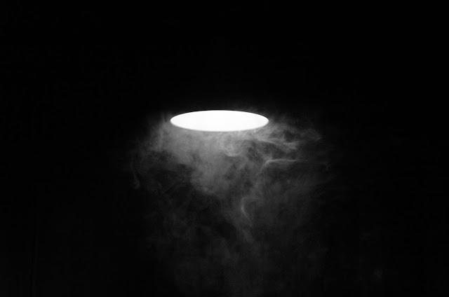 Лампа в дыму