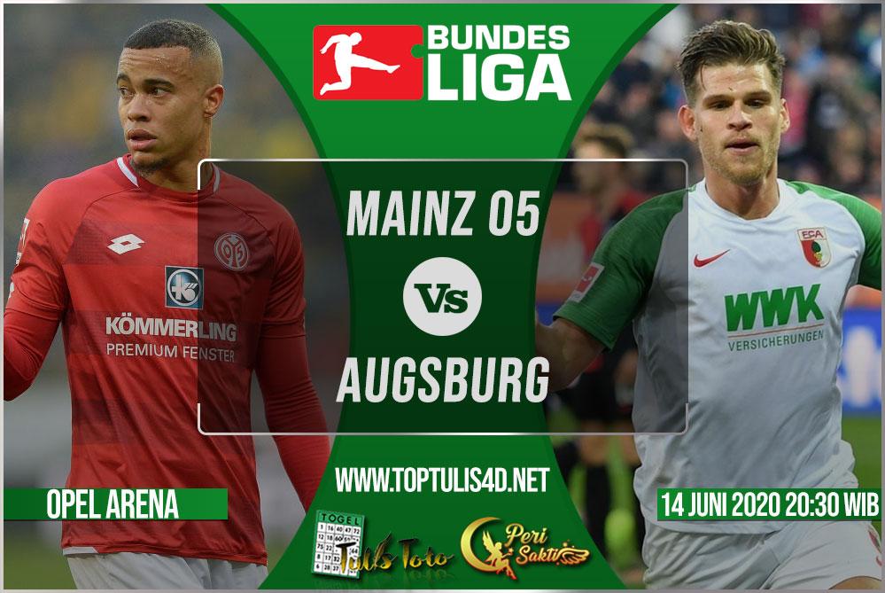 Prediksi Mainz 05 vs Augsburg 14 Juni 2020