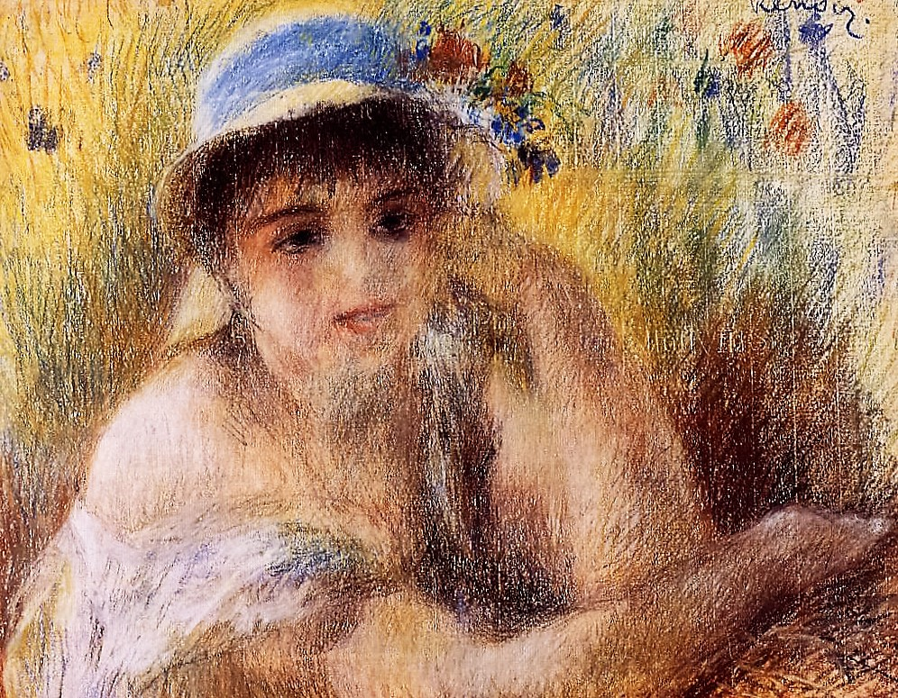 It 39 s about time dreaming of warmth 52 women in summer for Auguste renoir