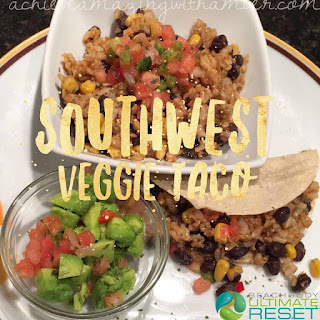 ultimate reset, ultimate reset recipes, 21 day fix, taco recipe, healthy tacos, vegetarian, healthy vegetarian recipes, clean eating