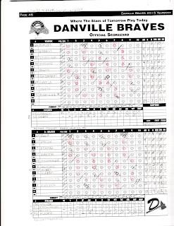 Mets vs. Braves, 06-30-15. Mets win, 1-0.