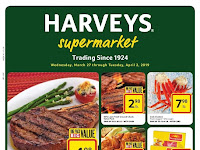Harveys Weekly Deals April 10 - April 16, 2019
