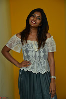Eesha in a cute deep neck top and Skirt at at Big FM 113.JPG
