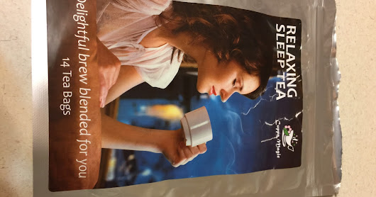 Relaxing Sleep Tea by Cuppa Magic (review)