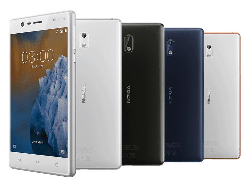 The Nokia 3!