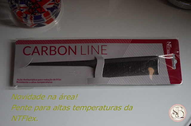 Somando Beleza, Escova Ceramic Pro Salon Line, Pente De Carbono Antiestático