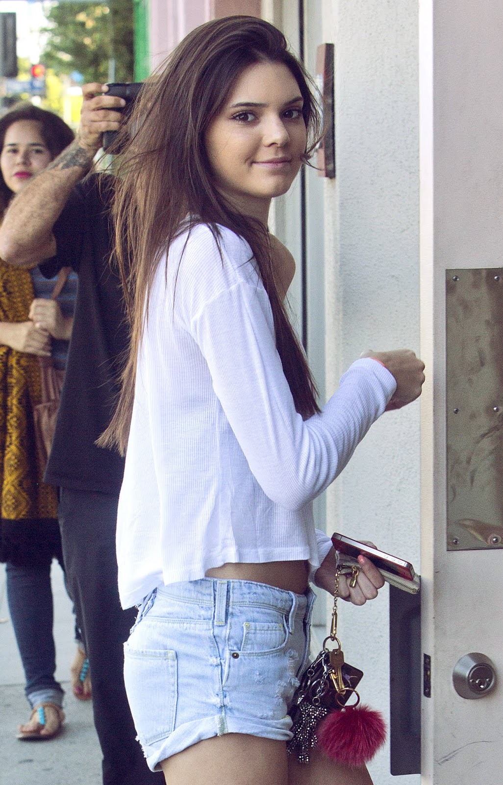 08 - Out and About with Kylie Jenner in Hollywood California on June 16, 2012