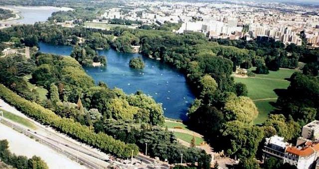 Passeios pelo Parque da Tête d'Or de Lyon