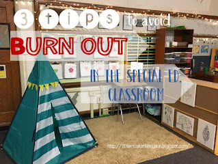 Tips to Avoid Burnout in the Special Education Classroom