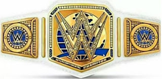 WWE Intercontinental US Tile Belt Change Raw Smackdown