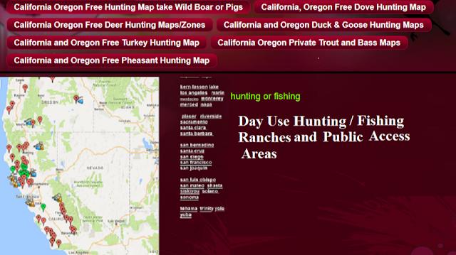 private property hunting mule deer california