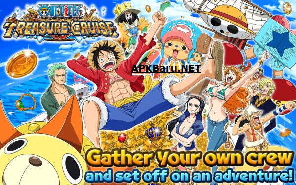 One Piece: Treasure Cruise Apk Mod v5.3.2 Terbaru