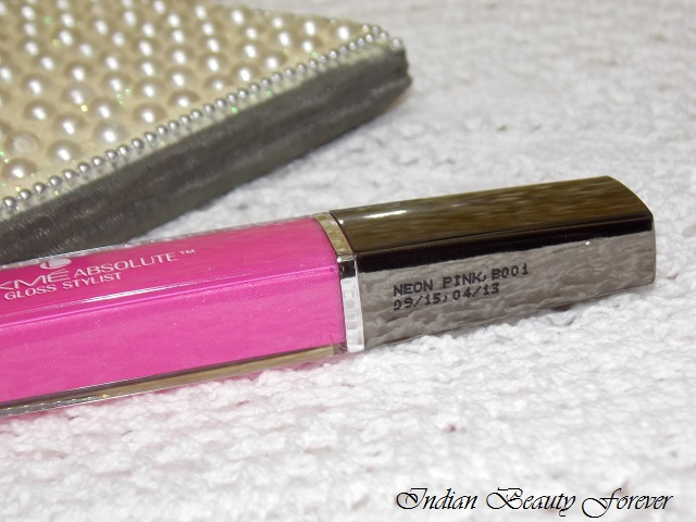 Lakme absolute stylist Lip Gloss Neon pink