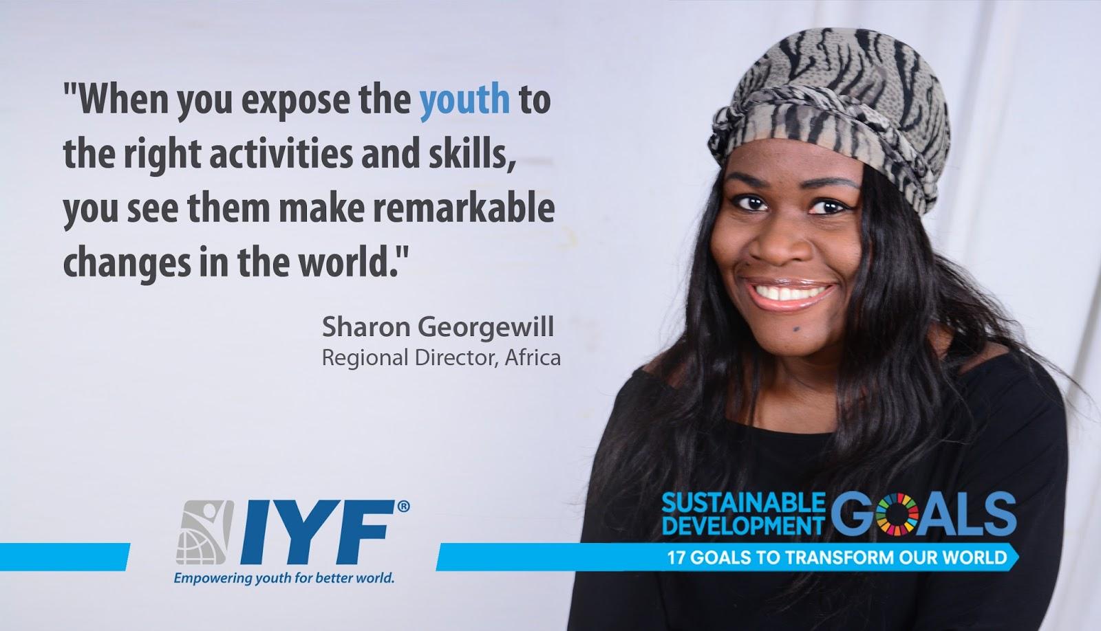 Sharon Georgewill, Regional Director, Africa