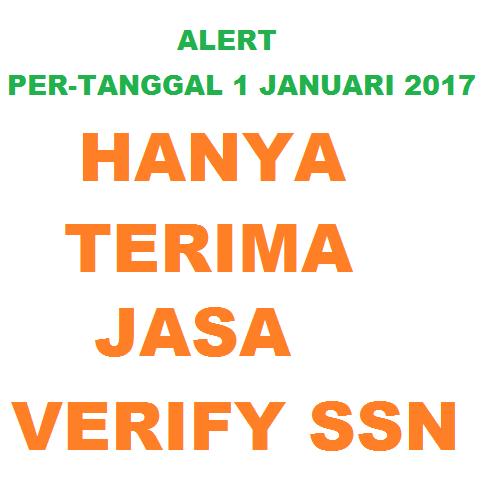 Jasa Verifikasi SSN Tax US