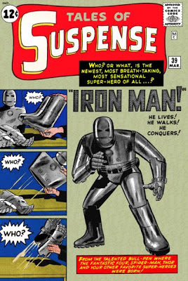 Tales of Suspense #39, the origin of Iron Man