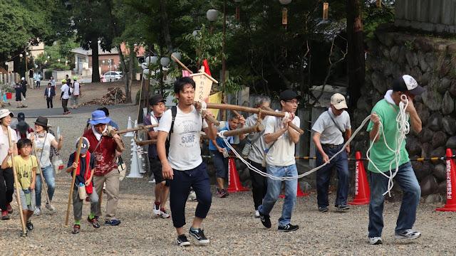 石上げ祭り2