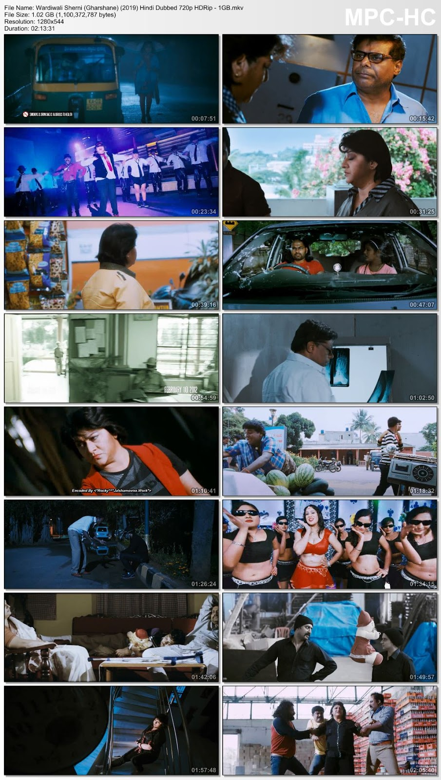 Wardiwali Sherni (Gharshane) (2019) Hindi Dubbed 720p HDRip – 1GB Desirehub