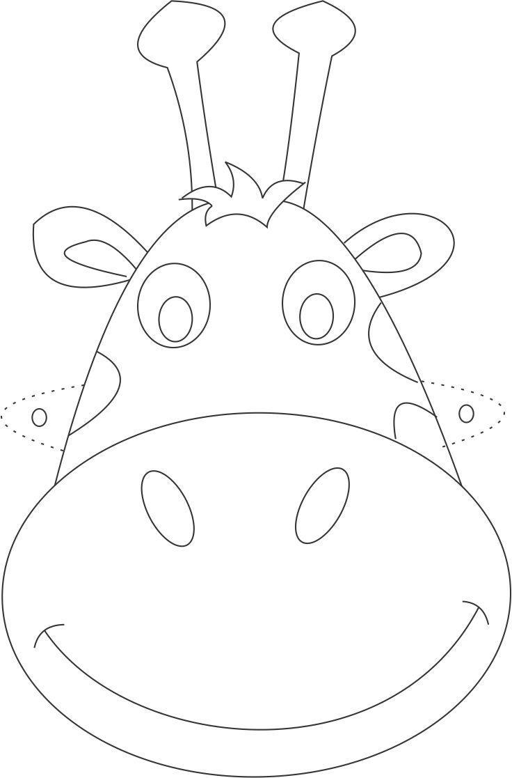 Blog Cantinho Alternativo 10 Mascaras De Animais Para Imprimir