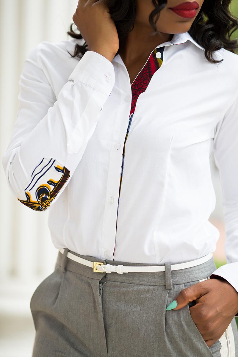 Button down class shirt by KoshieO