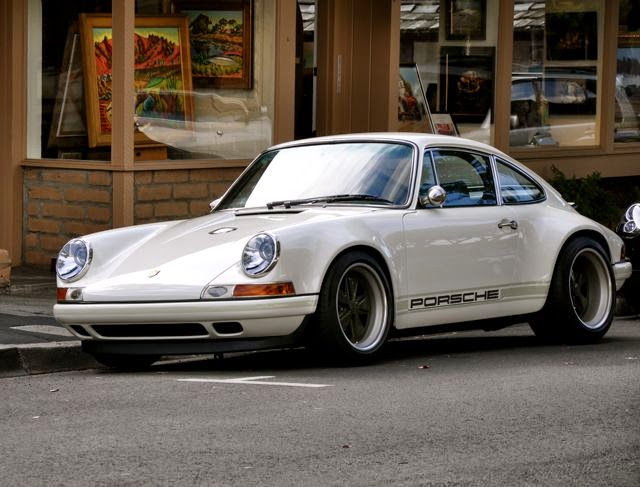 067ce3add30ebb Only in Carmel during Car Week do you see a Singer Porsche parked on the  street