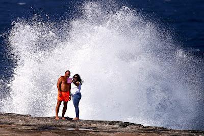 """الإعصار """"كلفين"""" يجتاح ولاية أسترالية"""