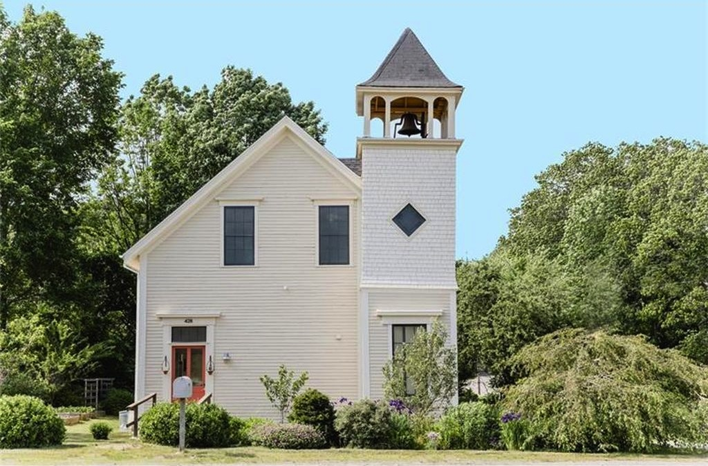 Sweet House Dreams: 1862 Converted Church in Edgecomb, Maine