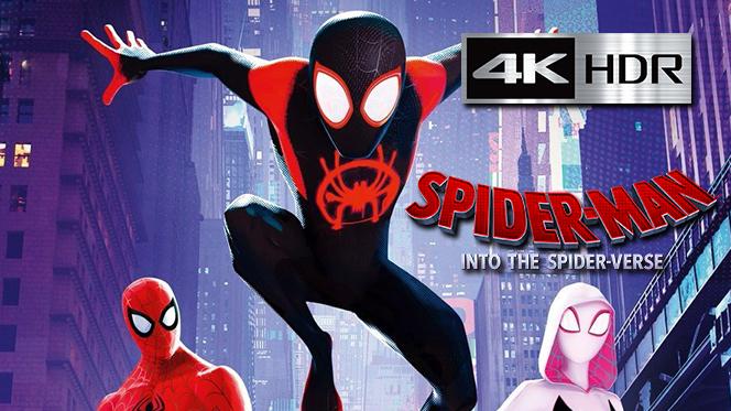 Spider-Man: Un nuevo universo (2018) Web-DL 4K UHD [HDR] Latino-Ingles