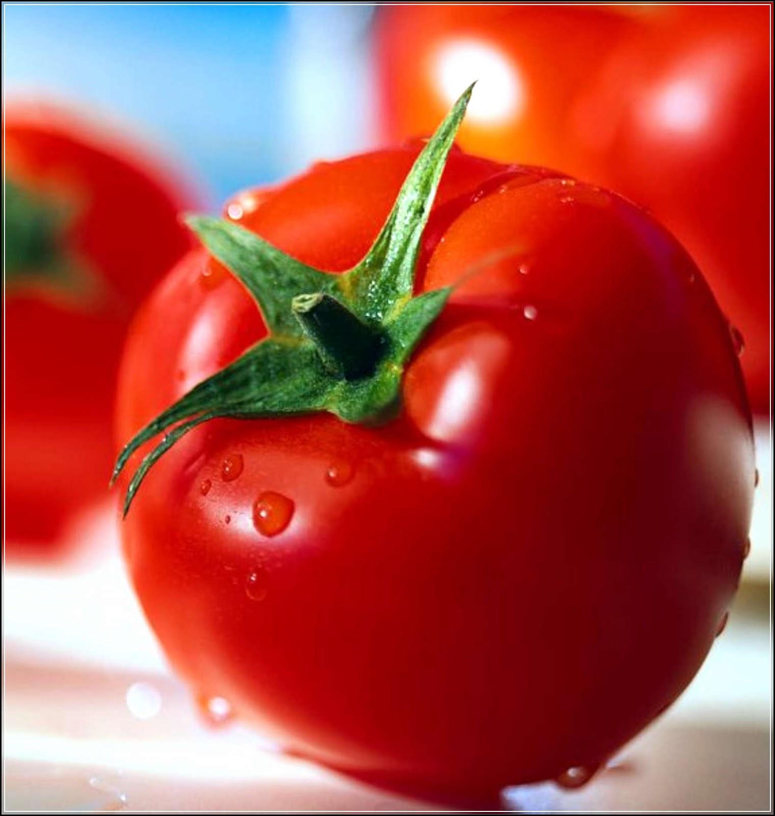 Cara Menghilangkan Bopeng Bekas Jerawat Dengan Tomat: Menghilangkan Jerawat Dan Wajah Berminyak Dengan Tomat
