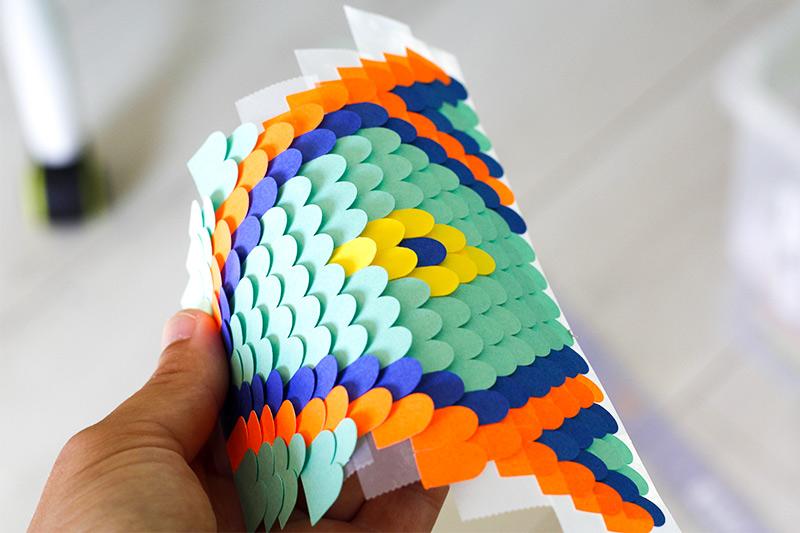 construction d'une toiture en papier- camille epplin