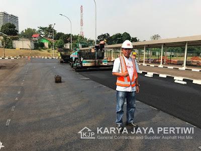 Kontraktor Pengaspalan Jalan Jakarta bogor depok tangerang bekasi bandung