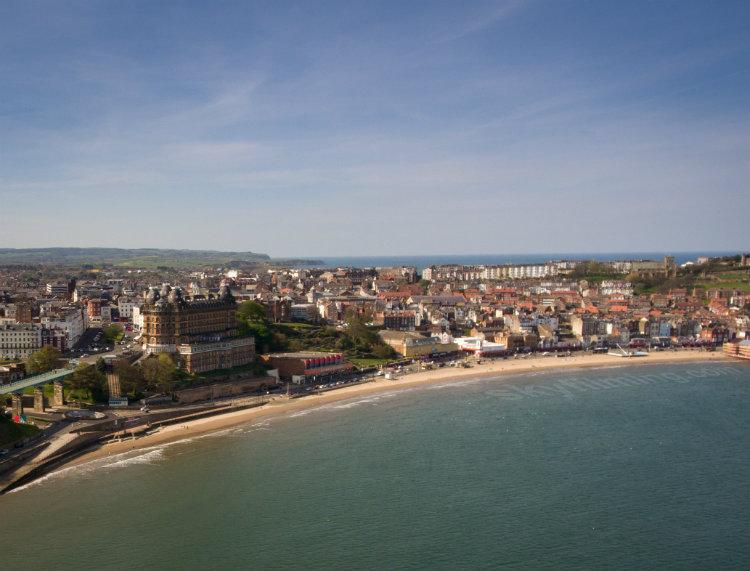 Scarborough drone photo