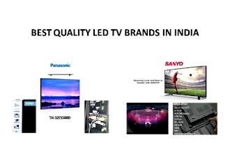 Best quality LED TV Brands PANASONIC & SANYO under price range  Rs.30,000/- only