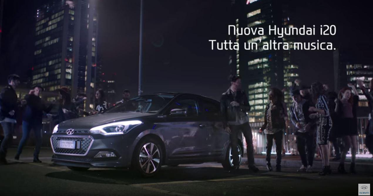 Canzone Hyundai i20 Pubblicità ''E' tutta un'altra musica'' con Federico Russo